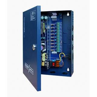9 канален захранващ блок 12VDC 10A KAS-DC120910 9P/10A